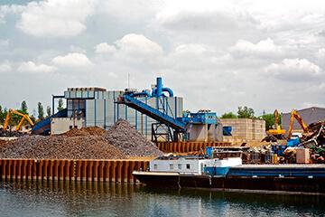 Logistique chez GDE Recyclage