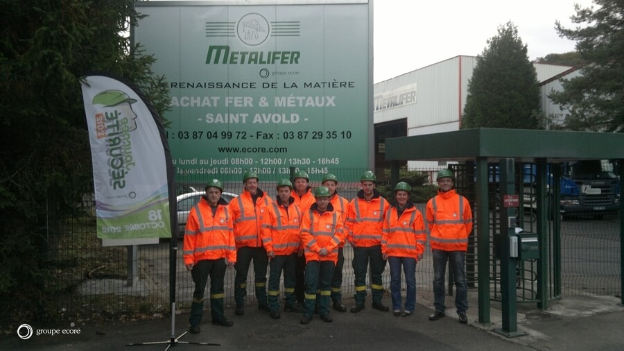 Site GDE Recyclage de Saint-Avold en Moselle