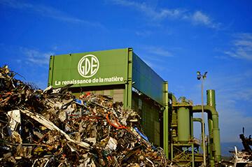 Recyclage de la ferraile chez GDE