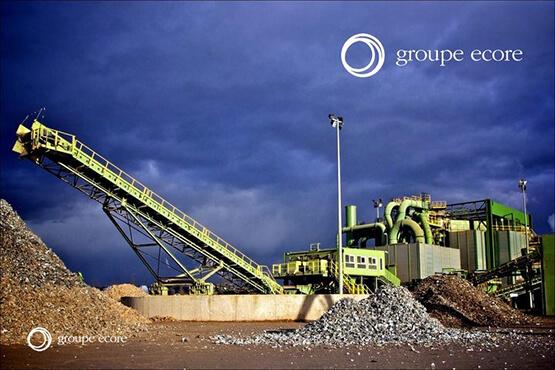 Site de GDE Recyclage Groupe Ecore